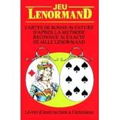 Jeu Lenormand - Tarot- Cartomancie - Voyance - Esot�risme