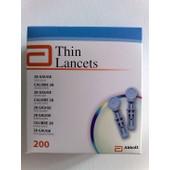 Lancettes St�riles Calibre 28