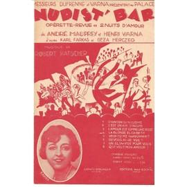La blonde Elisabeth (Fox Trot de l'Opérette Nudist'Bar) - Chant seul - 1930