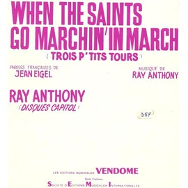 When the Saints go marchin'in - Chant (Français & Anglais), Piano & Accords - 1953