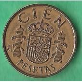 Cien Pesetas Juan Carlos 1985