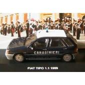 Fiat Tipo 1.1 Carabinieri 1989 Edison Italia Polizia - 1/43