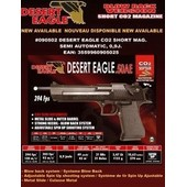 Desert Eagle 50 Ae Co2 Chargeur Court Full Metal Gbb 0.9 Joule