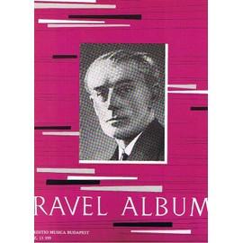 Ravel Album pour piano, pièces choisies