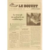 Le Bouvet. La Lettre Des Amoureux Du Bois (Plein D'id�es) N� 35 : Le Travail Au Gabarit Ou