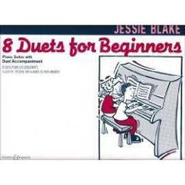 8 Duets for Beginners Piano 4 hands
