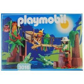 Playmobil - Aventurier Et Pont