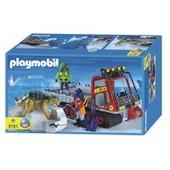 Playmobil 3191 Les V�hicules De Transport De Dinosaure