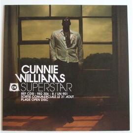 Cunnie Williams Superstars (Plaquette promotionnelle)