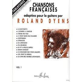 Chansons Françaises Guitare Volume 1
