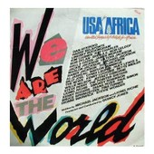 We Are The World �crit Par M. Jackson Et L. Richie - Usa For Africa, United Support Of Artists For Africa