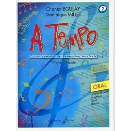 Boulay : a tempo vol 2 oral - Billaudot