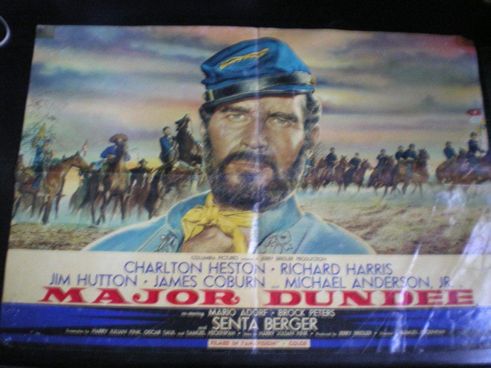 Major Dundee affiche de cinéma