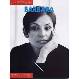 Barbara : collection grands interprètes - chant + piano + accords