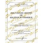 Bourdeaux : Nouvelles Le�ons De Solf�ge Rythmique Vol 2 - Billaudot