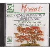 Mozart - Concert Pour Piano N�9 & 23 - Rondo Kv 386 - Pires Maria-Jo�o
