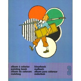 Tintin - Album � Colorier N� 3