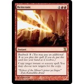 Reiterate Magic The Gathering Rare Vo