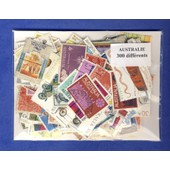 Australie 300 Timbres Diff�rents