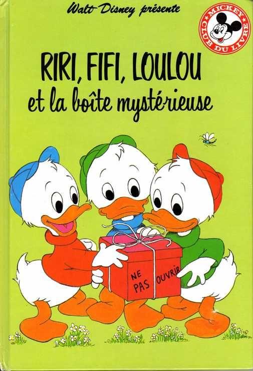 Riri, Fifi, Loulou et la boîte mystérieuse (Mickey-club du livre)