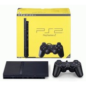 Sony Playstation 2 Slim Black (Ps2, Ps Tw Noir)