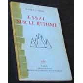 Essai Sur Le Rythme. de GHYKA, Matila C.