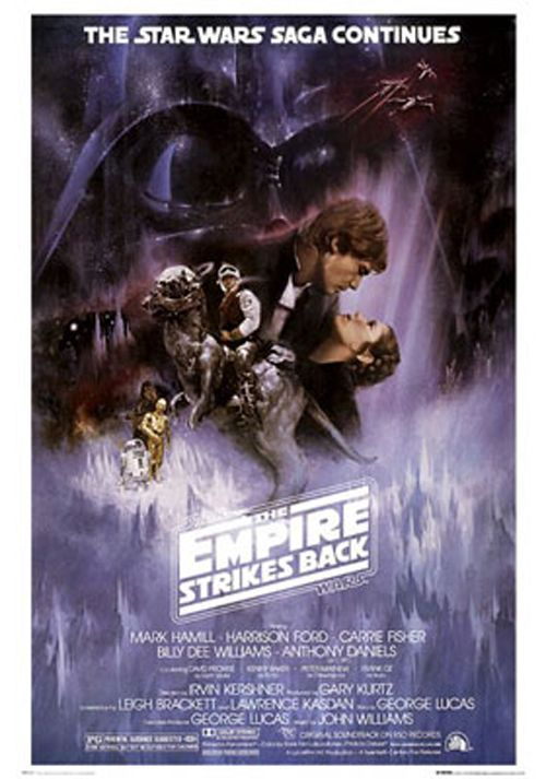 Poster Roulé Star Wars Motif Star Wars Empire Poster Star Wars Empire