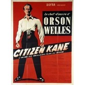 Citizen Kane Affiche Lithographie Acienne De Collection