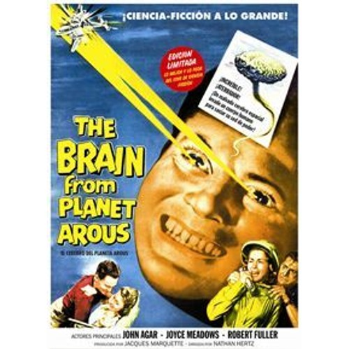THE BRAIN FROM PLANET AROUS (DVD)