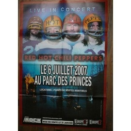 Double poster Red Hot Chili Peppers / Linkin Park