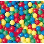 Lot De 100 Balles En Plastiques Pour Piscine De Boules Color�es