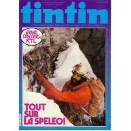 Tintin N� 393 : Tout Sur La Sp�l�o ! Grand Concours Rtl