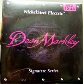 Dean Markley Nickel Steel Electric - Signature Series 10-46 - Jeu De Cordes Pour Guitare Electrique 10/46