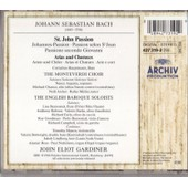 Arias & Choeurs De La Passion Selon St Jean Soli; Monteverdi Choir; English Baroque Soloists; - Johann Sebastian Bach
