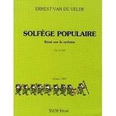 Solfege Populaire Bas� Sur Le Rythme Cl� De Sol