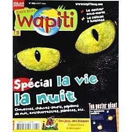 Wapiti N� 269 : Sp�cial La Vie La Nuit