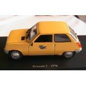 Renault 5 1976 Musee De La Poste Ptt 1/43 Norev Editions Atlas
