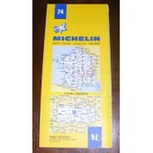 Carte Routi�re Michelin N� 74 A 1/200000 : Lyon - Geneve de Michelin, *