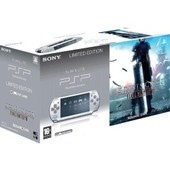 Sony Psp 2004 Slim & Lite Silver Smoke Grey + Final Fantasy Vii Crisis Core