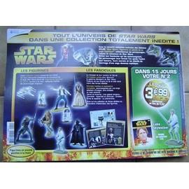 Star Wars - Collection Compl�te Figurines En Plomb Editions Atlas - 61 Personnages Et Vaisseaux