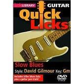 Lick Library: Quick Licks - Slow Blues David Gilmour de Humphries Jamie