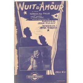 Nuit d'amour (du film Florence est folle) - Chant seul - 1945