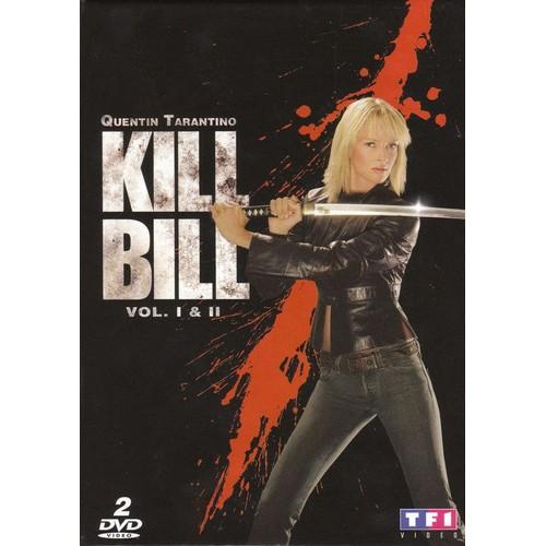 KILL BILL VOL.1/KILL BILL VOL.2 (IMPORT)  (COFFRET DE 2 DVD)