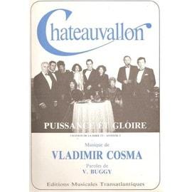 Puissance et Gloire (Chanson de la série T V Châteauvallon) - Piano & Chant - 1984
