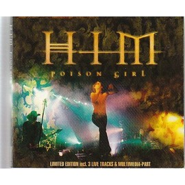 poison girl(limited edition incl.3 live tracks & multimedia part)