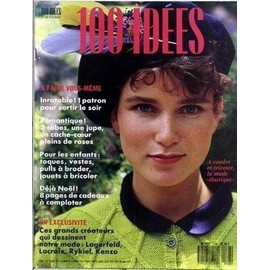 100 Idees N� 168 Du 01/11/1987