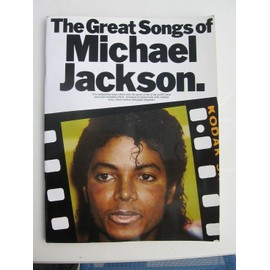 The great songs of Michael Jackson