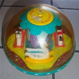Roly Poly Chime Ball - 1966