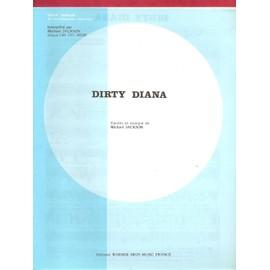 Mickael Jackson - Dirty Diana - Chant & Piano - 1987