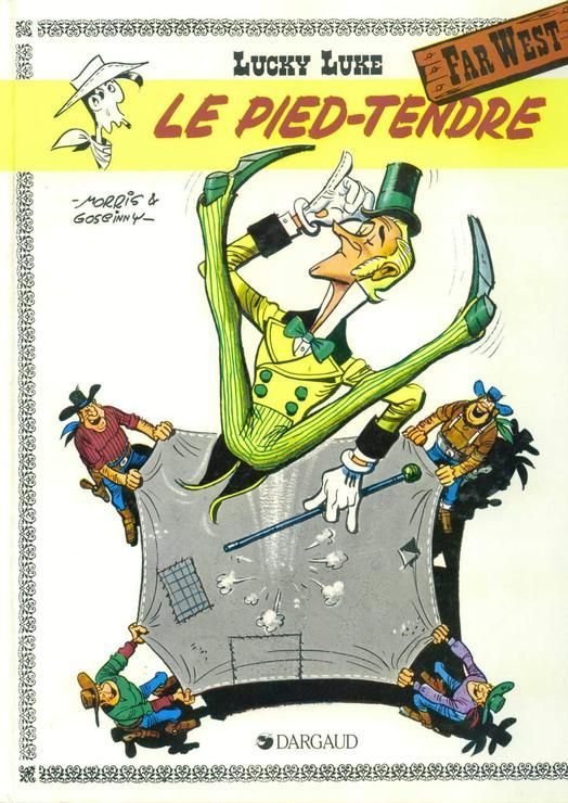 Lucky Luke, tome 2 - Le Pied tendre - Dargaud - 01/01/2000